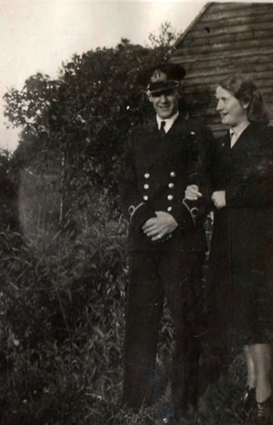 Warrant Officer H.J.B. Button and Florence Mary Nunn