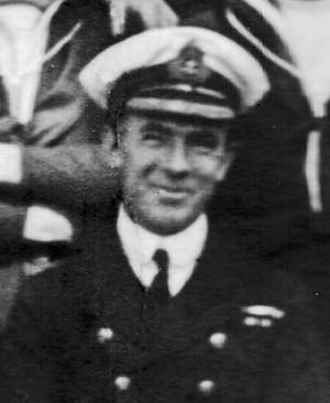 Cdr Somerville P.B. Russell RN, CO of HMS Venomous, 1919-21