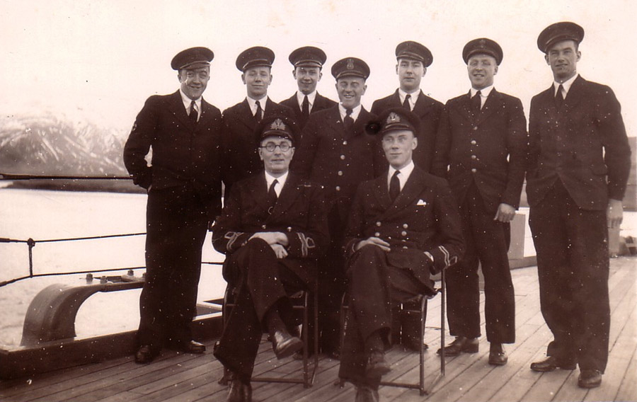 Sick Bay Team on HMS Hecla