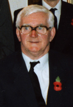 David Hoggins at the Hecla, Marne & Venomous Association fiftieth anniversary reunion in 1992