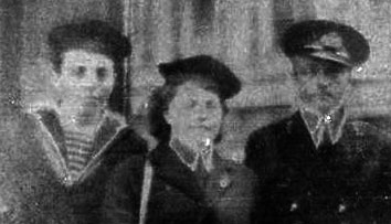 The Three Musketeeers: Harry Hack, his younger brother and sister