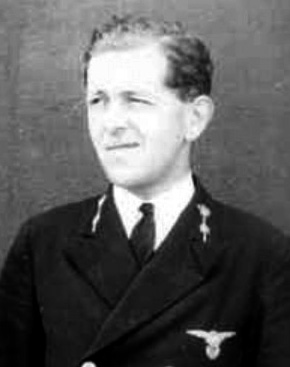 Jo Bonguets in RAF uniform during the war