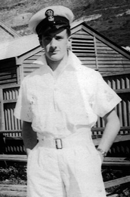 Les Proctor at Simonstown, 1942