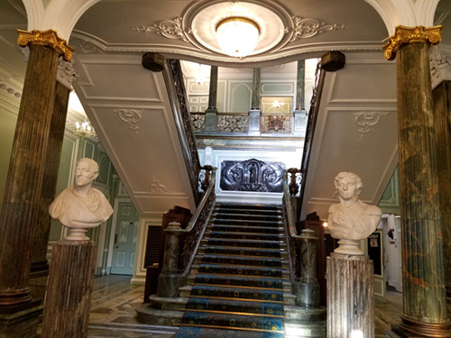 Entrance Hall to Seaford House