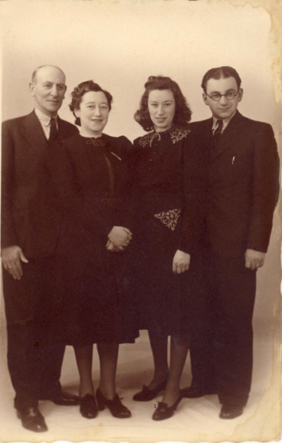 The parents of Max Louis Wessel, April 1941