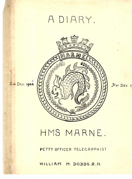 Cover of Bill Dodds Diary